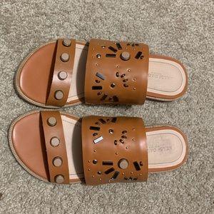 Kelsi Dagger Shoes - Kelsi Dagger Brooklyn Raven Slide Sandal